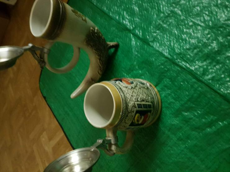 Bild 4: 2 Bierkrüger aus Rotenburg ob der Tauber Orginale !! Siehe Bilder