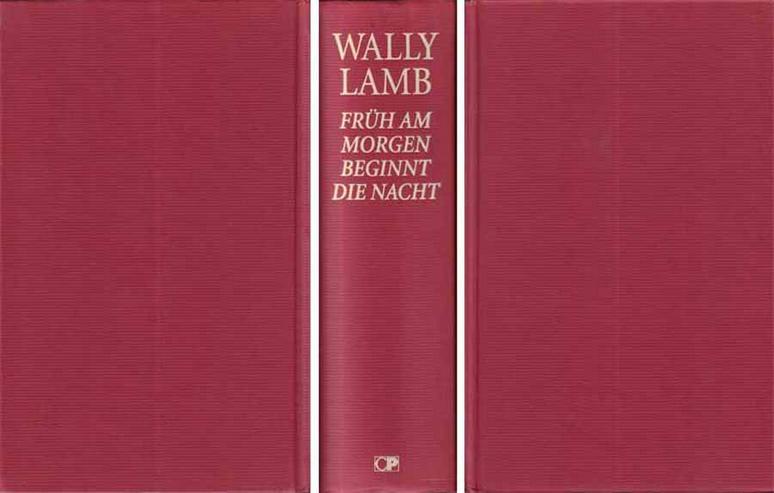 Bild 2: Buch von Wally Lamb - Früh am Morgen beginnt die Nacht - ein Roman - 1999