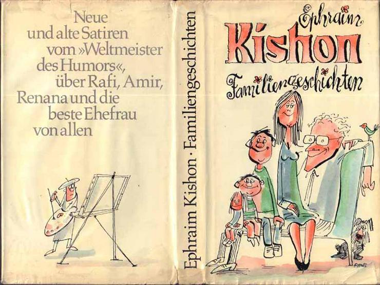 Buch von Ephraim Kishon - Familiengeschichten - Satiren - Romane, Biografien, Sagen usw. - Bild 1