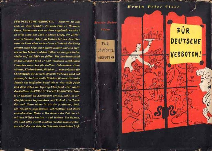 Buch von Erwin Peter Close - Für Deutsche verboten - eine Satire - Romane, Biografien, Sagen usw. - Bild 1