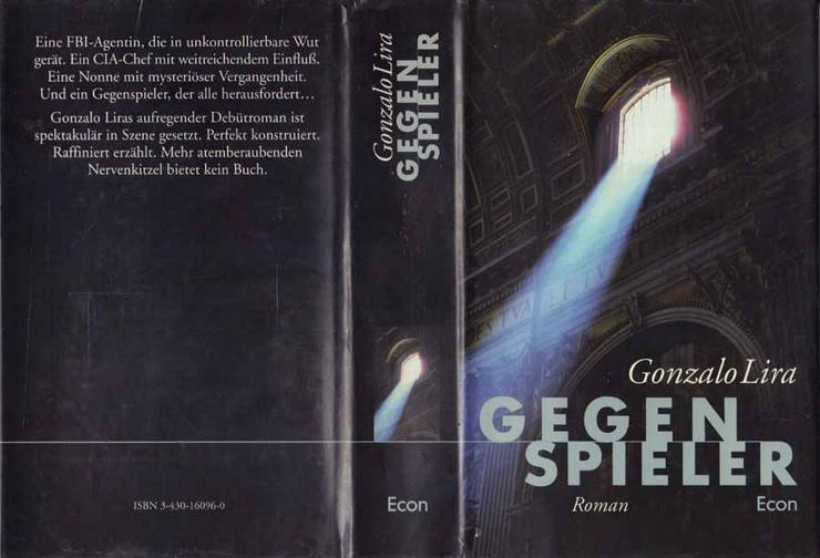 Buch von Gonzalo Lira - Gegenspieler - ein Roman - 1998 - Romane, Biografien, Sagen usw. - Bild 1