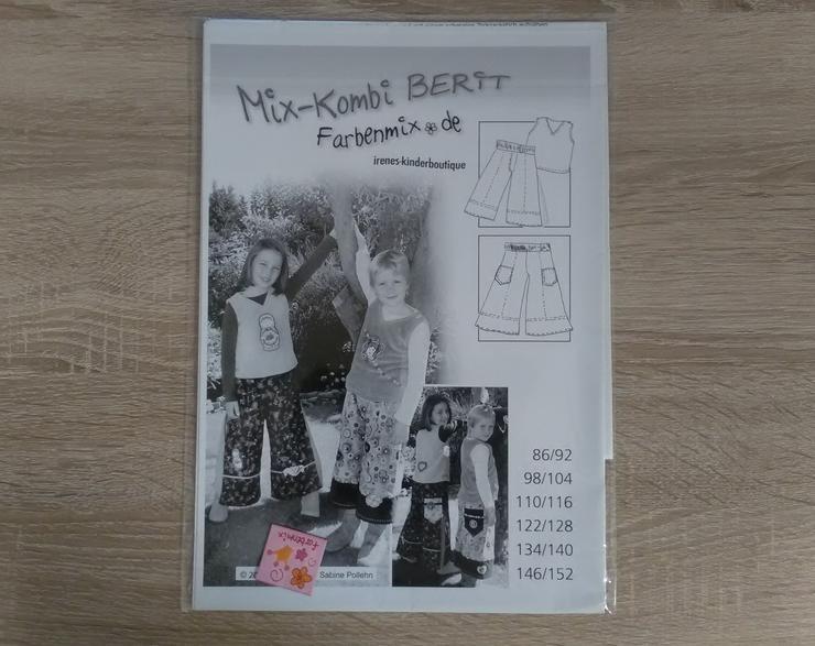 Farbenmix Schnittmuster Mädchen MIX Kombi Berit. - Handarbeiten & Basteln - Bild 1