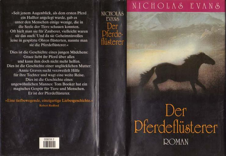 Buch von Nicolas Evens - Der Pferdeflüsterer - ein Roman - 1995 - Romane, Biografien, Sagen usw. - Bild 1