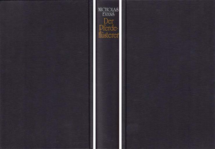 Bild 2: Buch von Nicolas Evens - Der Pferdeflüsterer - ein Roman - 1995
