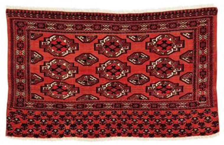 Bild 4: Orientteppich Salor Tschowal-Tasche (T005)