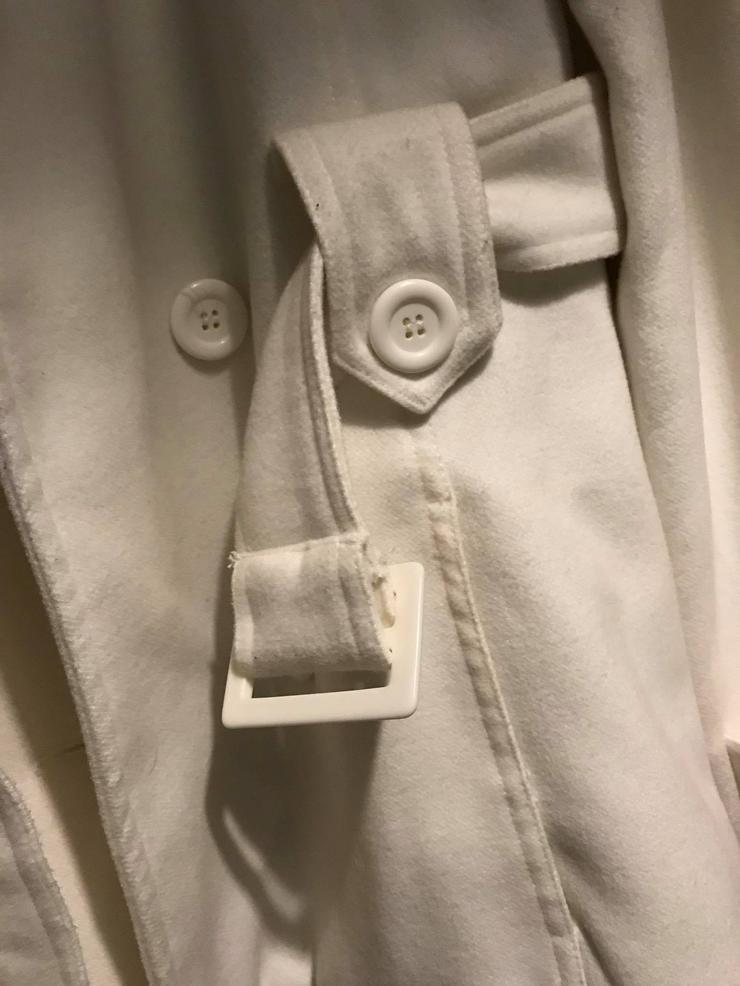 Bild 5: Weiße Jacke in neuwertigen Zustand