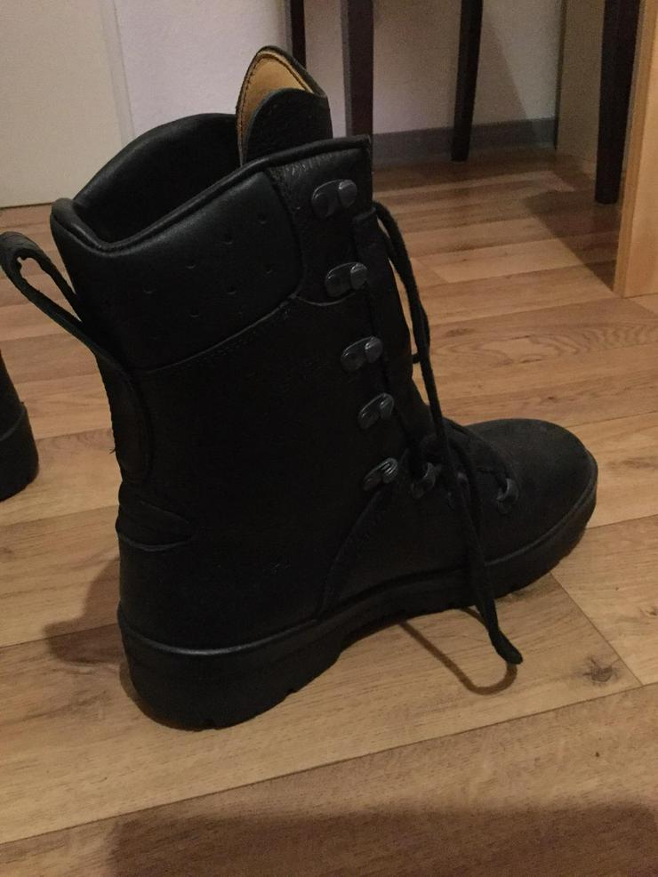 Bild 3: Dicke Schuhe massiv für Winter innen echt leder