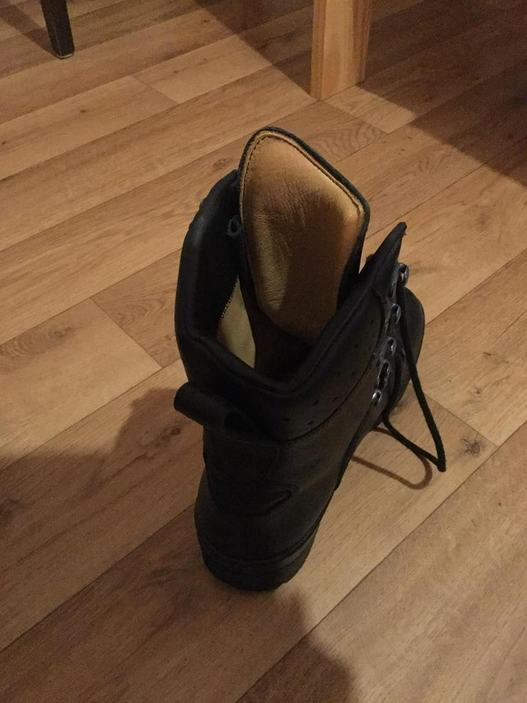 Dicke Schuhe massiv für Winter innen echt leder