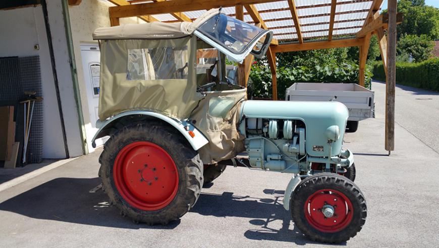 Traktor Eicher Panther EM 295 BJ.61