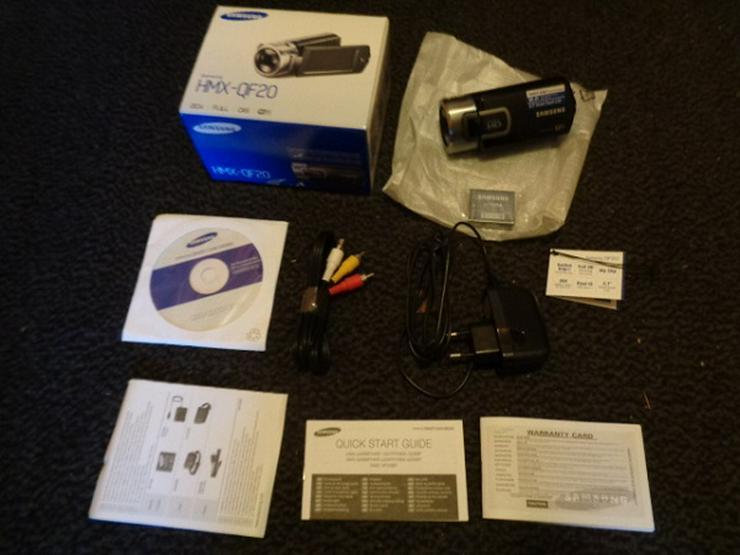 Camcorder Samsung HMX QF 20 unbenutzt OVP