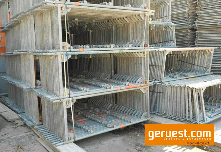 Bild 4: 501 m² gebrauchtes Baugerüst / Fassadengerüst - Layher Blitz 73