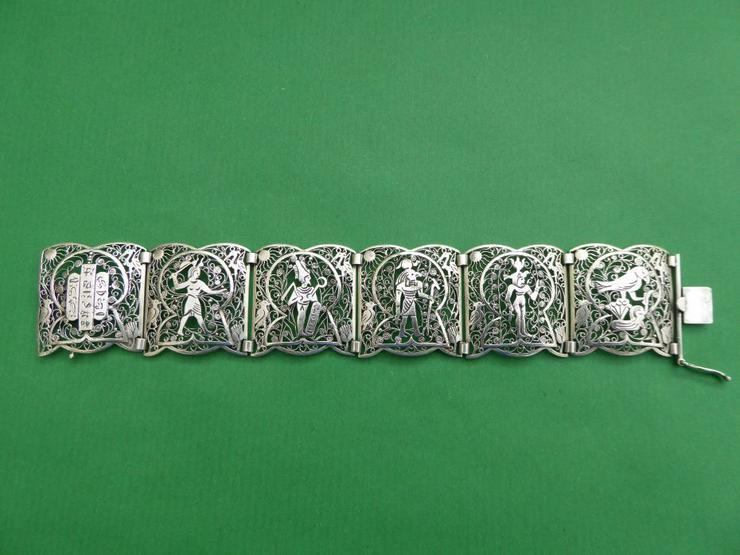 Armband, Silber 835, filigran, Ägypten