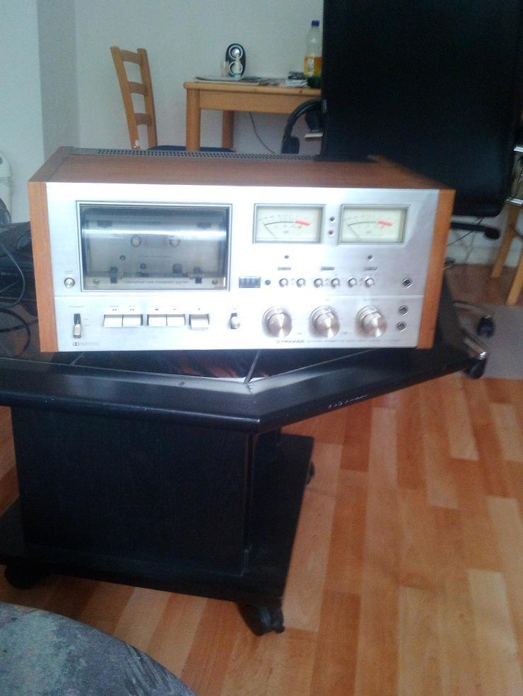 Pioneer Stereo Cassette Tape Deck Model CT-F9191  Vintage