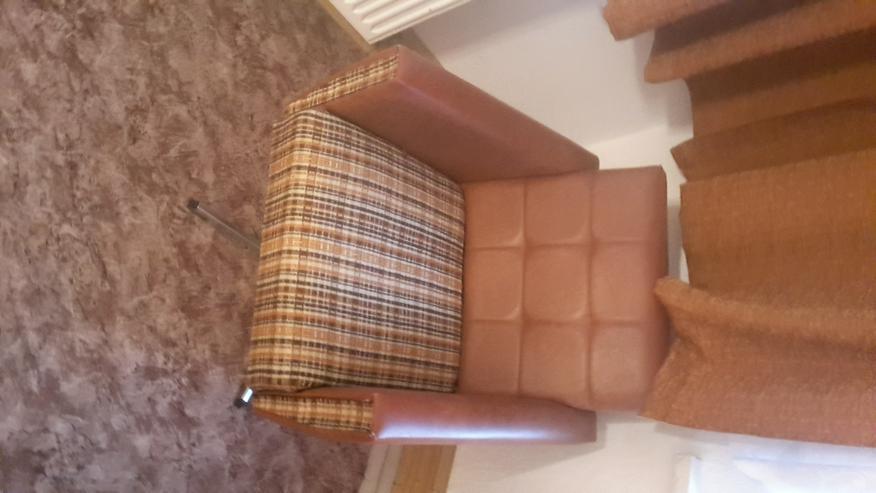 Zwei Sessel Leder Ende 60er Jahre sehr guter Zustand