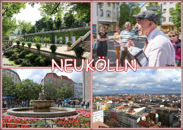 Führung Berlin Neukölln Schillerkiez und Rollbergviertel mit Reinhold Steinle