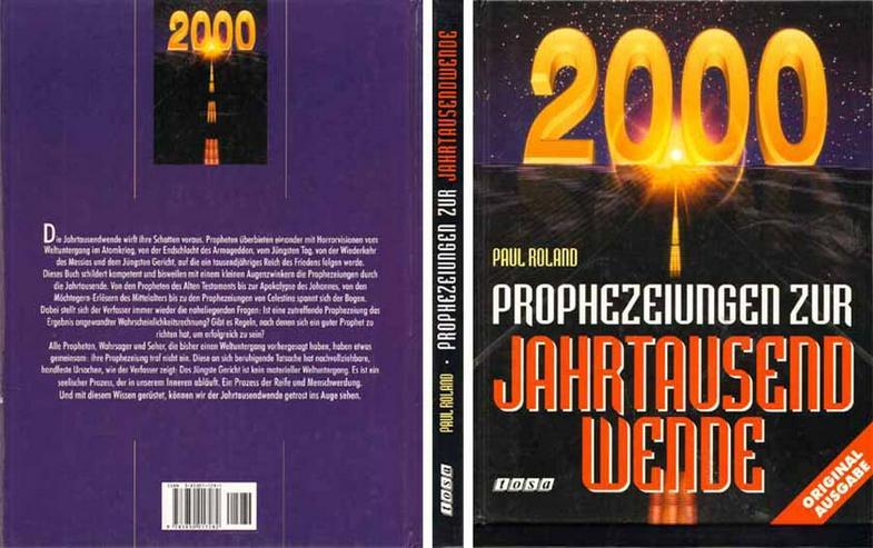 Buch von Paul Roland - Prophezeiungen zur Jahrtausendwende - 1997