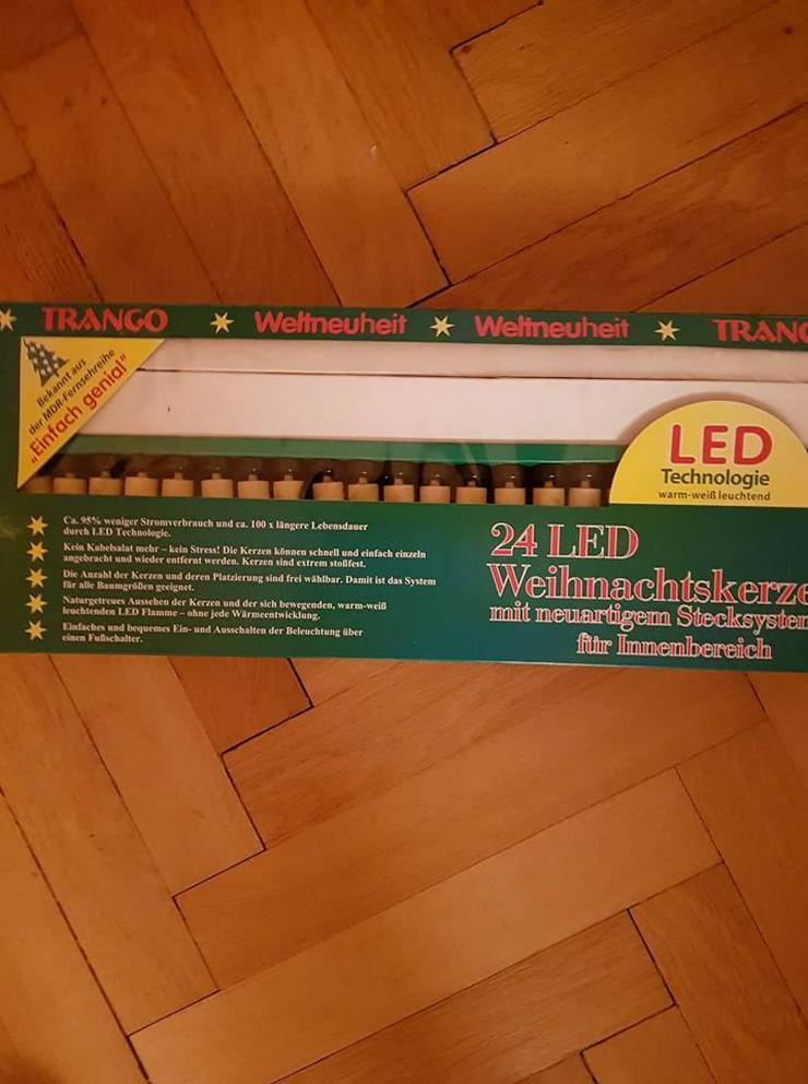 Weihnachtskerzen LED