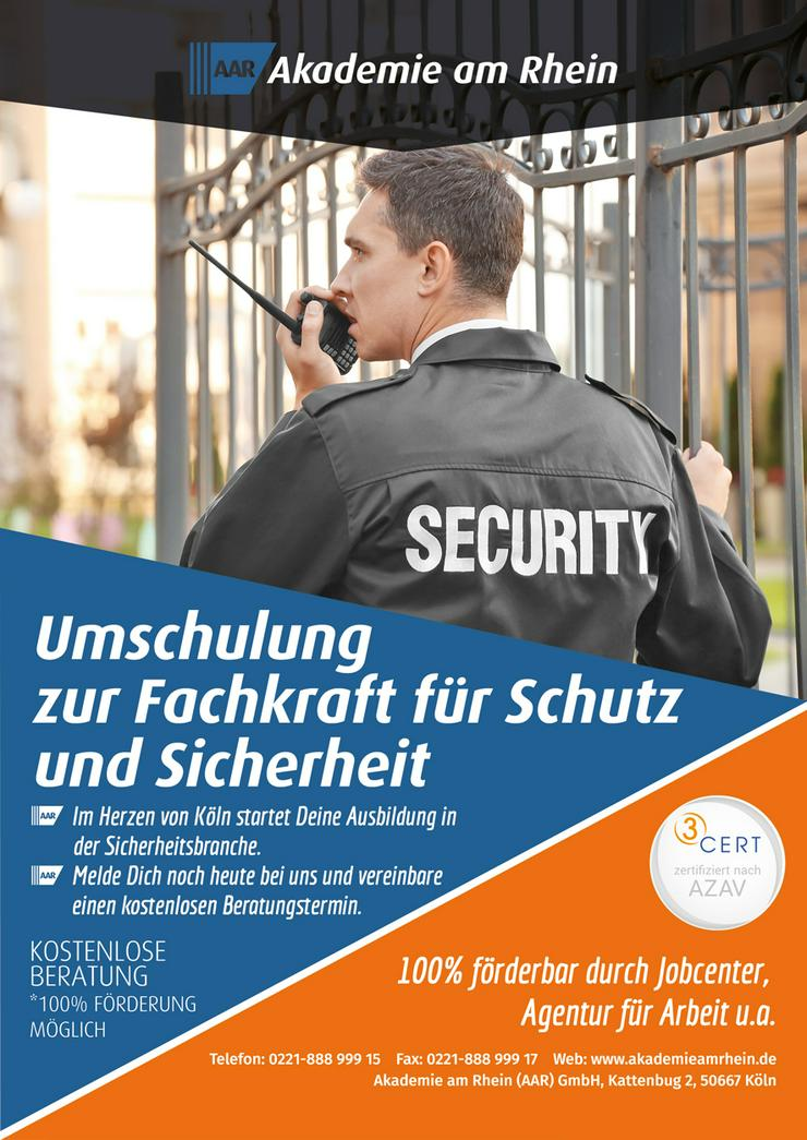 Fachkraft für Schutz und Sicherheit (Umschulung/Ausbildung)
