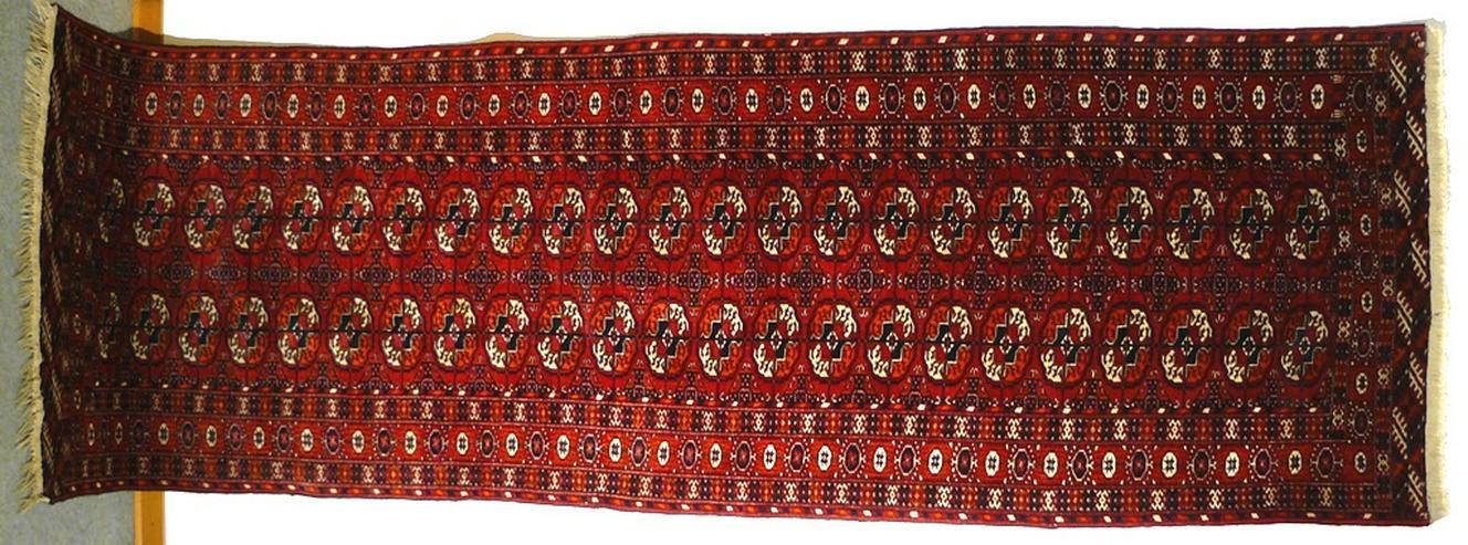 Orientteppich russischer Buchara alt 275x90 (T065)