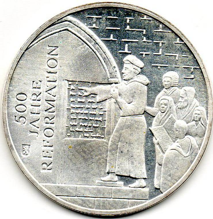Silber Sonderprägung (st) 2017 zu 500 Jahre Revormation