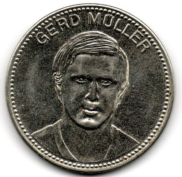 Mexiko 1970 - Gerd Müller - Shell - Fußball Weltmeisterschaft