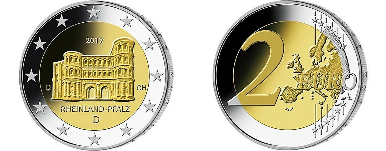 """2 EURO 2017 - Rheinland Pfalz """"F"""""""