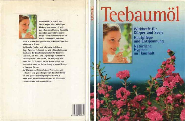 Buch - Teebaumöl - Wirkkraft für Körper und Seele / Hautpflege und Entspannung