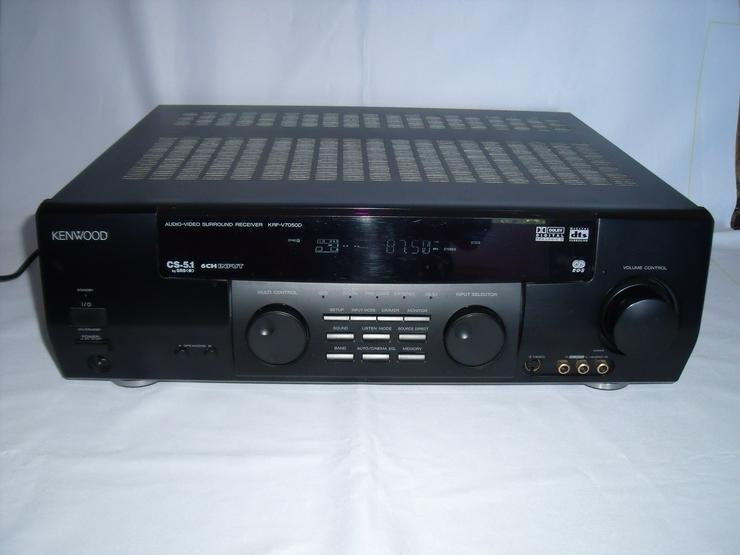 Kenwood KRF-V7050D 5.1 Kanäle 5 x 100 Watt Receiver Dolby Surroun