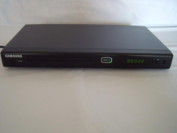 DVD Player SAMSUNG 181 DviX XviD; MIT Fernbedin, Wie neu.