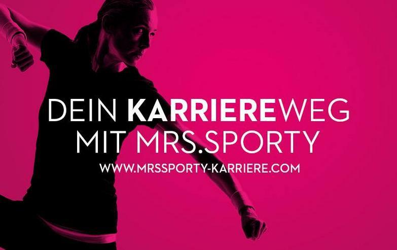 Mrs.Sporty sucht ab sofort Verstärkung