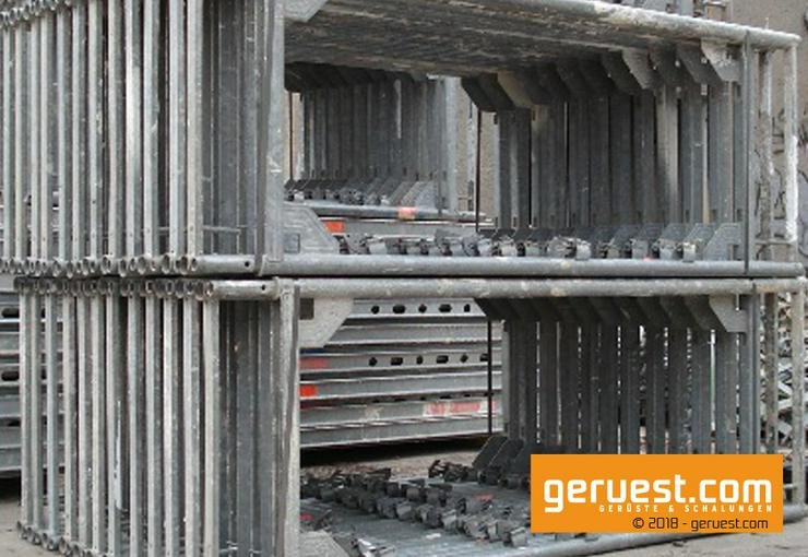 Bild 4: 157 m² Layher Blitz 73 gebraucht & günstig | Baugerüst / Arbeitsgerüst / Fassadengerüst / Malergerüst