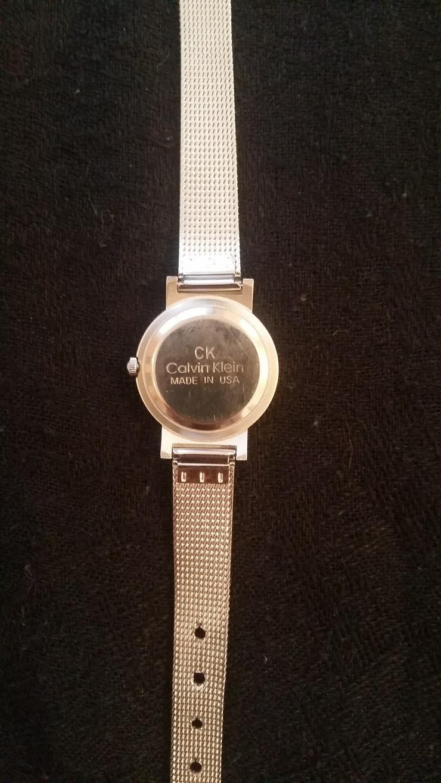 """Bild 5: Original Calvin Klein """"CK"""" Damen Uhr schönes Weihnachtsgeschenk TOP"""