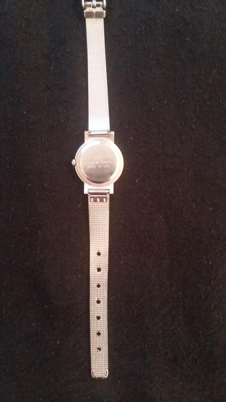 """Bild 4: Original Calvin Klein """"CK"""" Damen Uhr schönes Weihnachtsgeschenk TOP"""