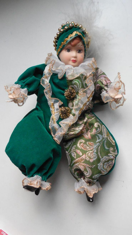 Harlekin Puppe