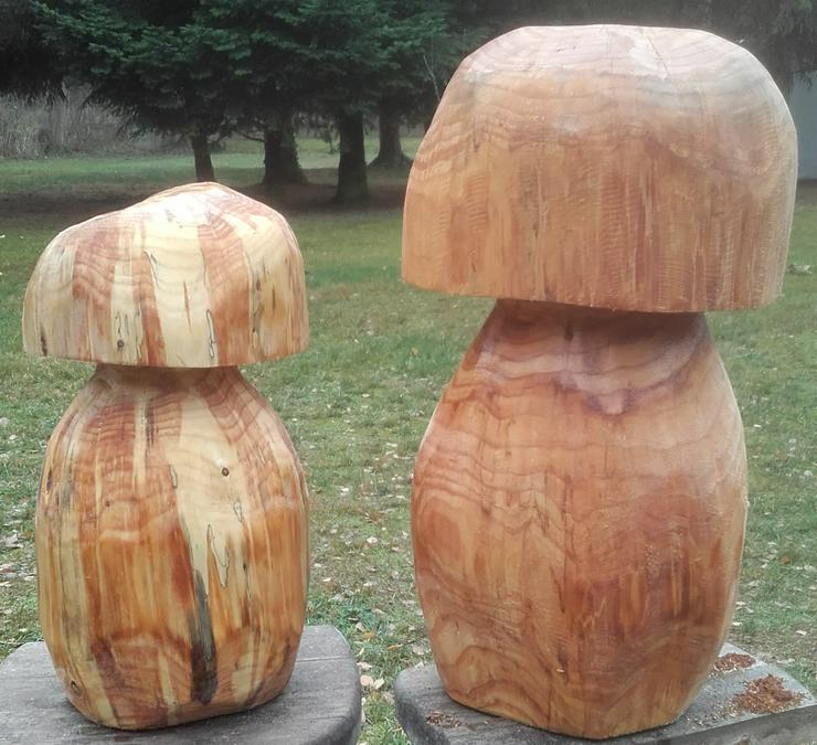 Dekopilz, Holzpilz, Pilz aus Holz