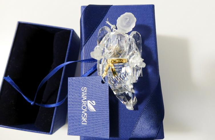 Swarovski Weihnachtsornament Kristallengel Original. Nagel neu!