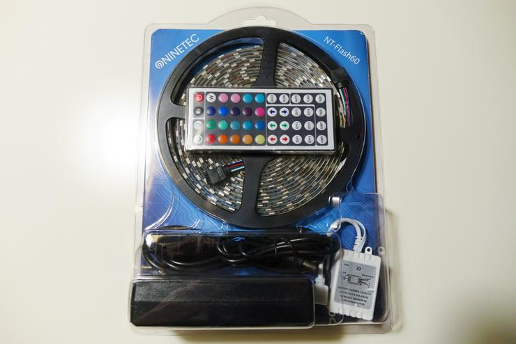 NINETEC LED-STRIP NT-FLASH60 MIT FERNBEDIENUNG (5 STUCK)