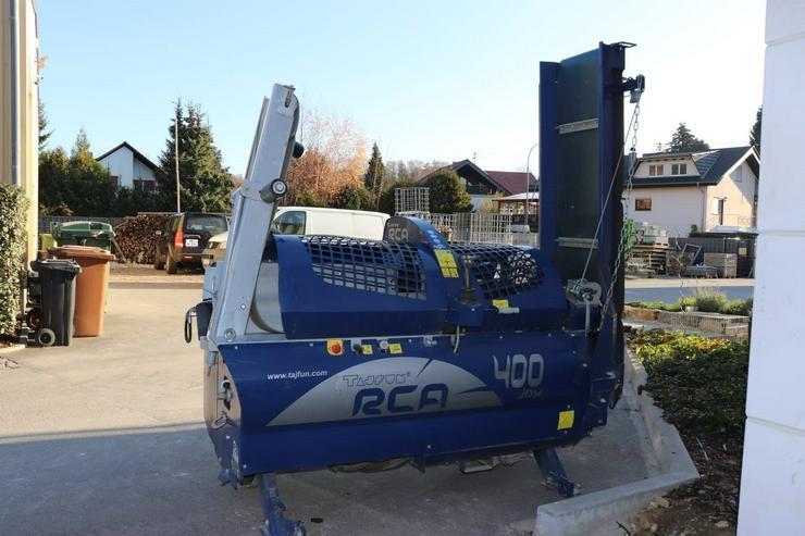 Tajfun RCA 400 Joy, Sägeautomat, Spaltautomat