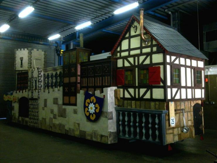 Karnevalswagen/Prinzenwagen, mehrfach prämiert,(30 Pers) zu vermieten - Party, Events & Messen - Bild 1
