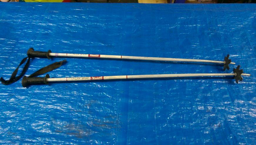 Bild 4: TOP SKI-SET > BLIZZARD° Abfahrt Skier 190cm + ALPINA° Stiefel Größe 44-46 + MARKER° Skistöcke 118cm