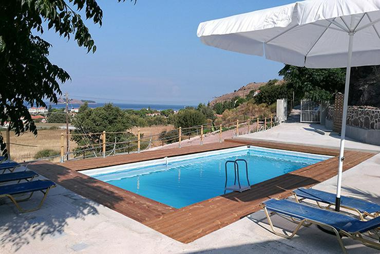 Urlaub für 2 Personen auf der Insel Lesbos: Bleiben sie 21 Nächte und zahlen Sie 14 Nächte im Troyan Hill für Mai und Oktober