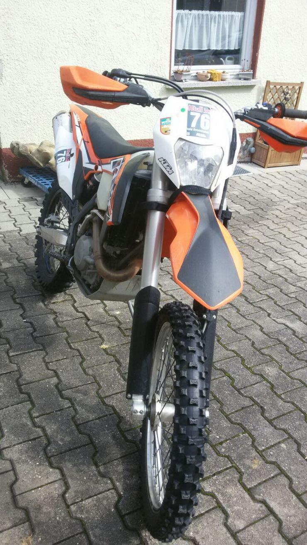 VERKAUFE KTM 500  EXC