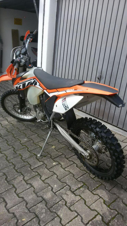 Bild 2:  VERKAUFE KTM 500  EXC