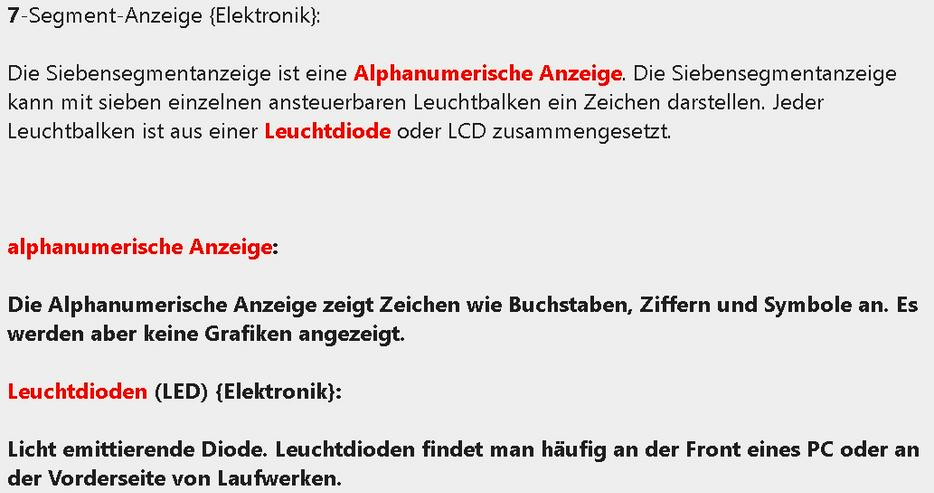 Lexikon: Elektronische Bauelemente CNC-Technik EDV Kfz Metall Antriebe mechatronische Komponenten - Lexika & Chroniken - Bild 1