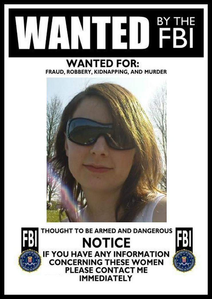 Gesucht: Mareike V.  (Wanted: Mareike V.)