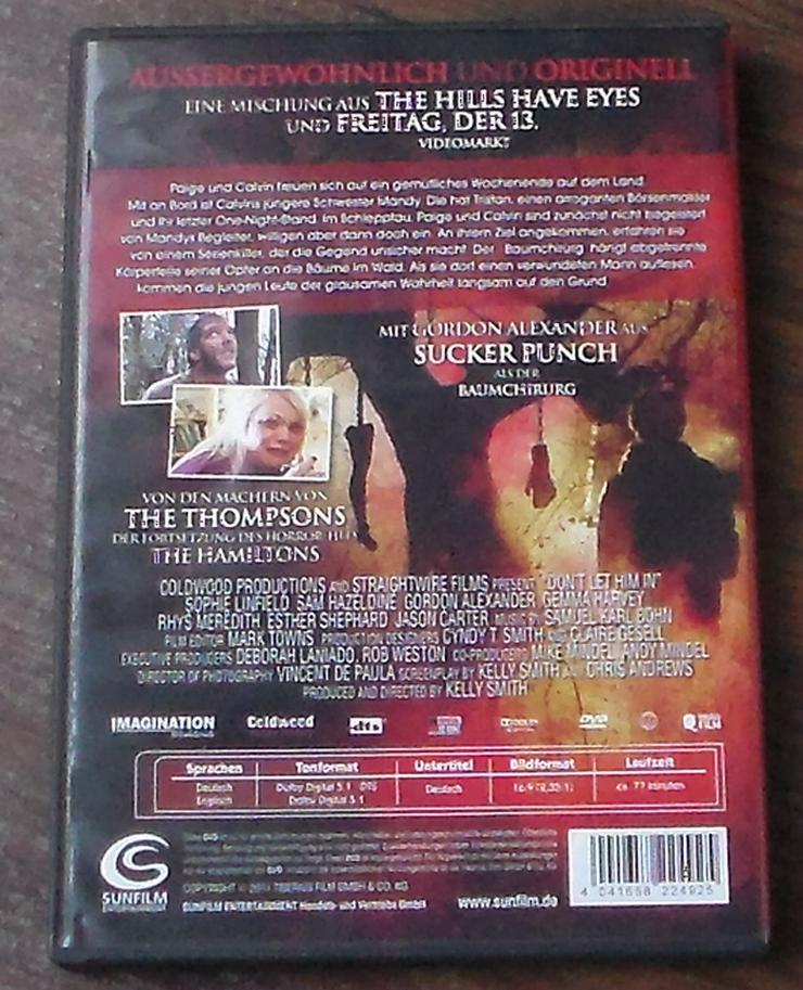 Bild 2: Lass ihn nicht rein! DVD Film Horror Psycho Killer