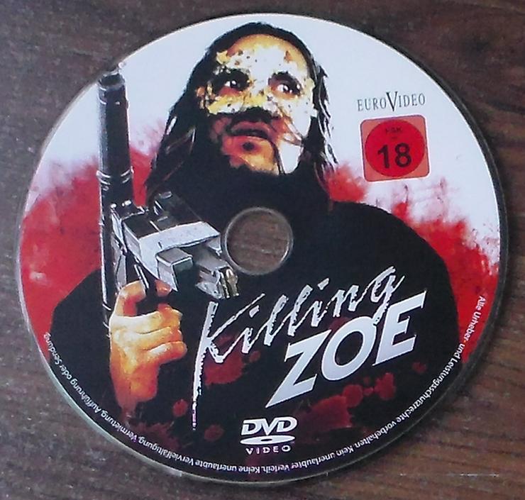 Bild 5: Killing Zoe DVD Film Action Thriller Gangster Eric Stoltz Jean-Hugues Anglade Julie Delpy