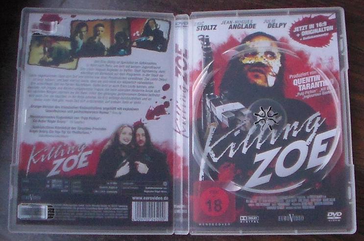 Bild 4: Killing Zoe DVD Film Action Thriller Gangster Eric Stoltz Jean-Hugues Anglade Julie Delpy