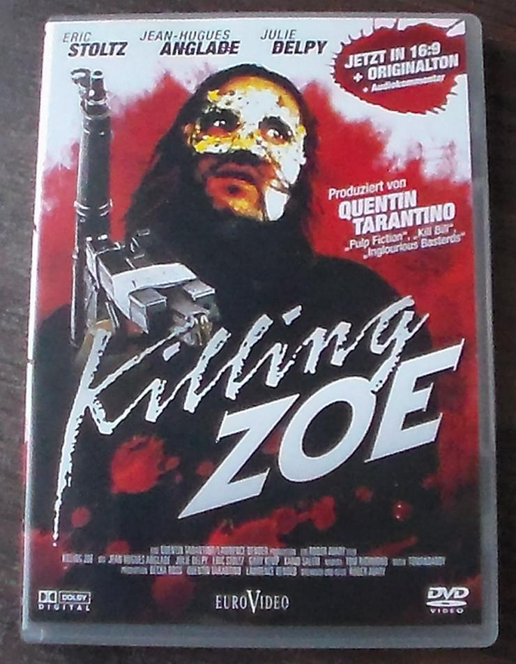 Killing Zoe DVD Film Action Thriller Gangster Eric Stoltz Jean-Hugues Anglade Julie Delpy - DVD & Blu-ray - Bild 1