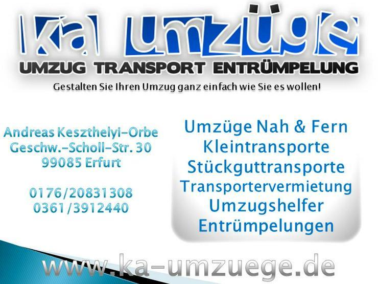 Transporter mieten , Transportervermietung - Umzug & Transporte - Bild 3
